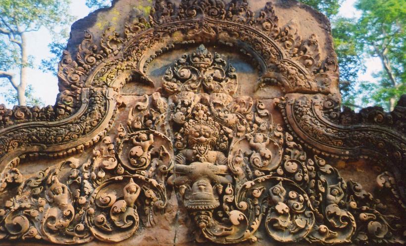 Banteay Srei Hindu temple Cambodia