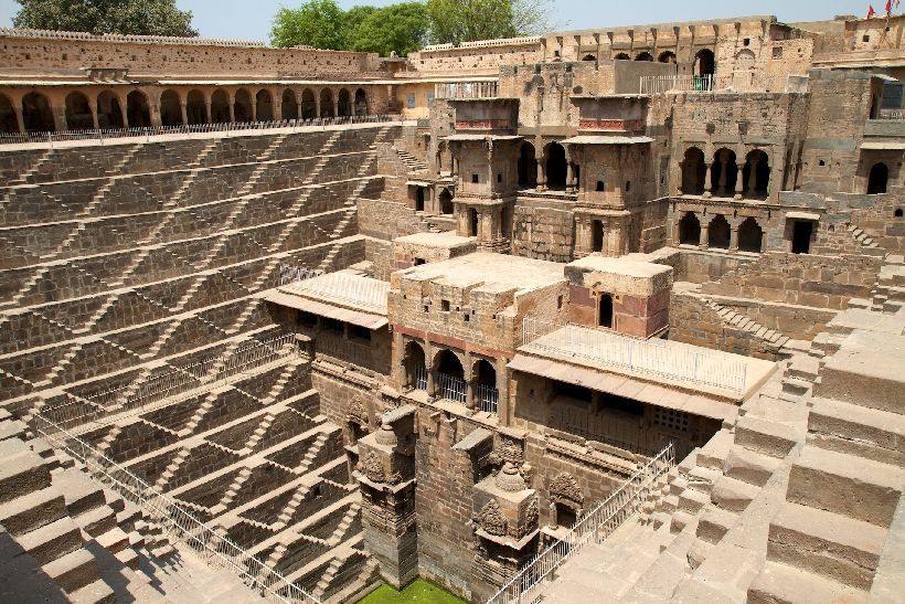 Chand Baori (Step-well) Rajasthan