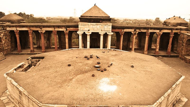 Octogonal Tomb of Sultan Ghari