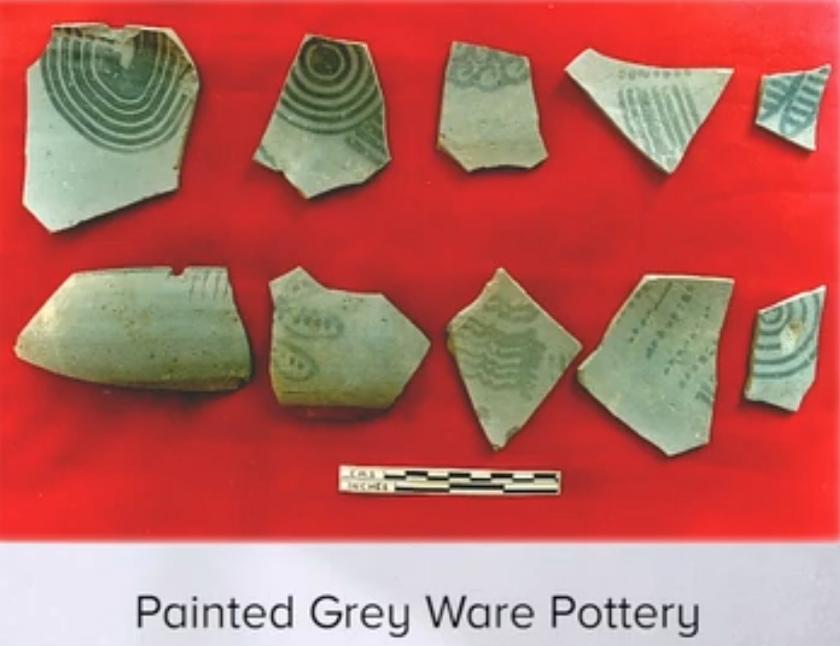 Fatehpur Sikri Greyware Pottery