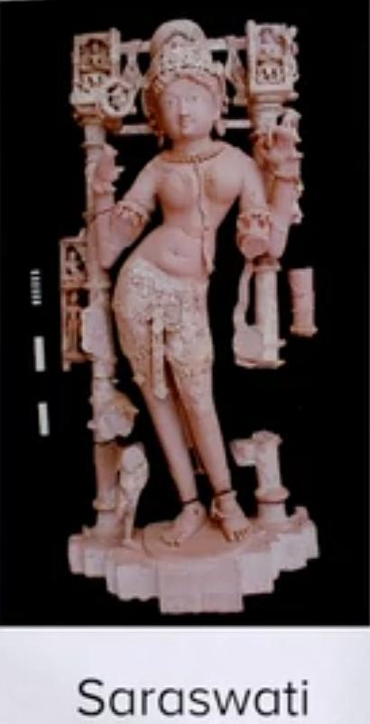 Jaina Saraswati at Fatehpur Sikri
