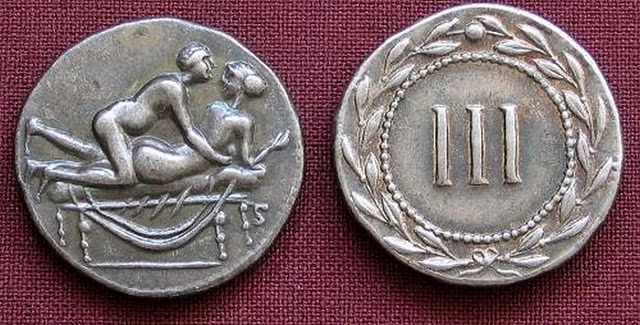 Spintriae Sexual Coins of ancient Rome 1