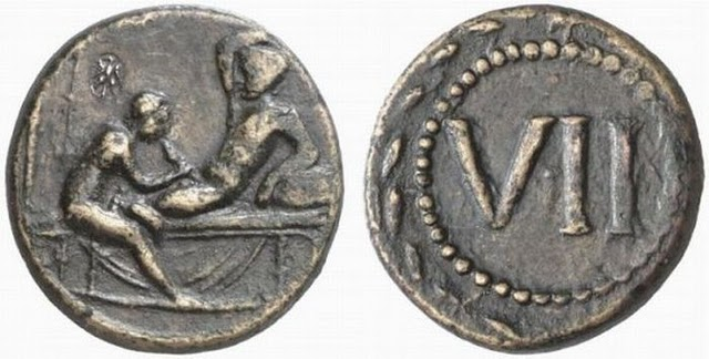 Spintriae Sexual Coins of ancient Rome 2