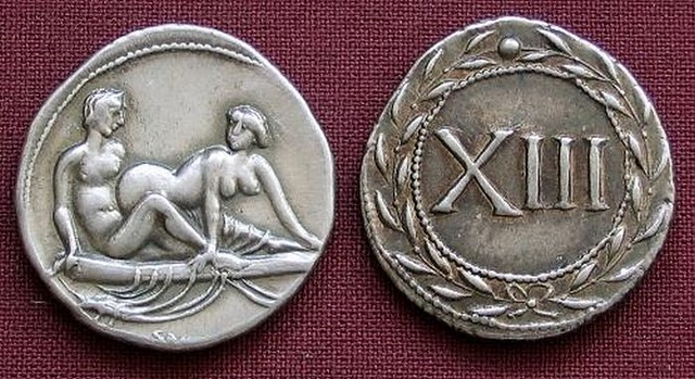 Spintriae Sexual Coins of ancient Rome 3