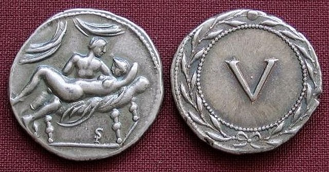 Spintriae Sexual Coins of ancient Rome 5