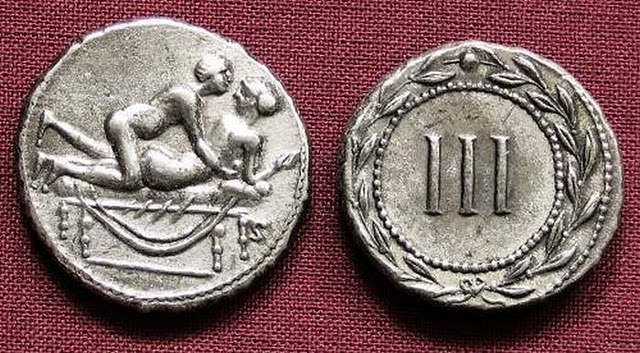 Spintriae Sexual Coins of ancient Rome 6