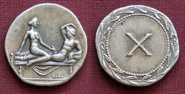 Spintriae Sexual Coins of ancient Rome 8