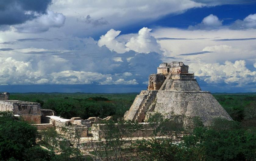 Uxmal Shiva Temple in Mexico