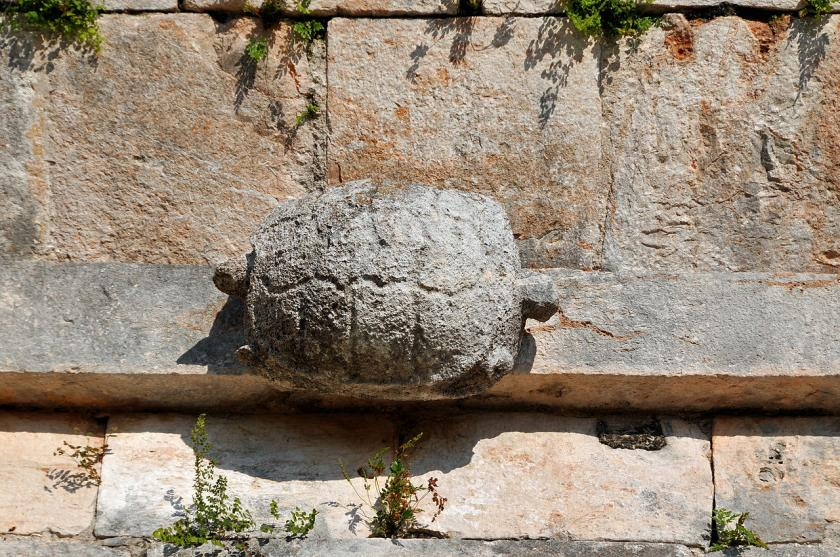 Uxmal Temple Kurma Avatar Turtle