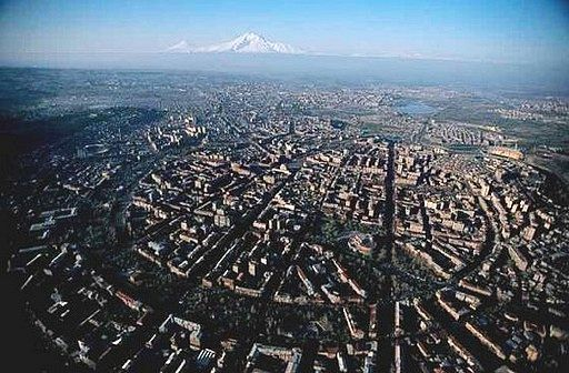 ancient yerevan city in armenia