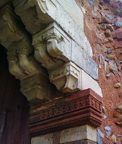 humayun tomb hindu temple arch