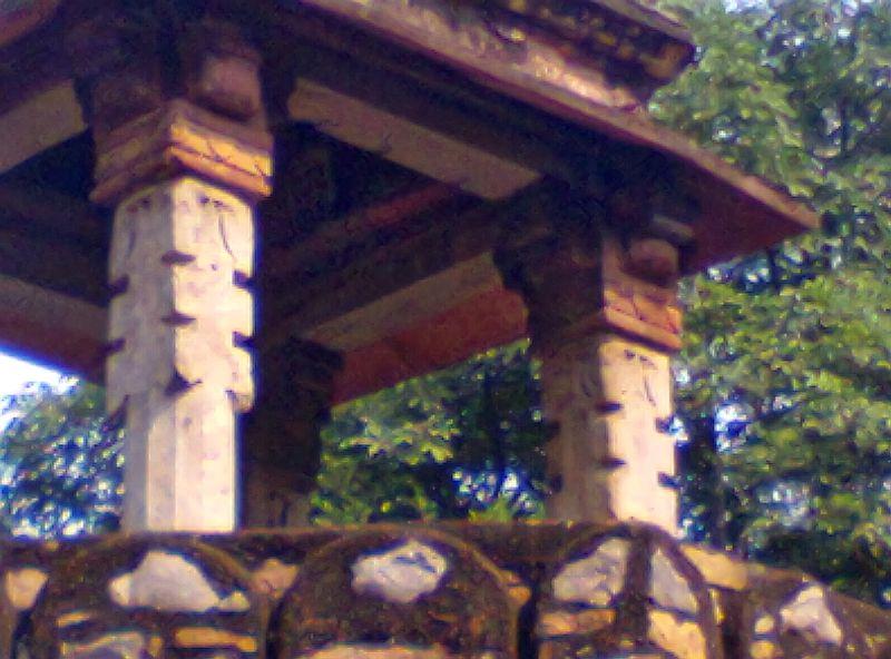 humayun tomb hindu temple pillars canopy strcuture