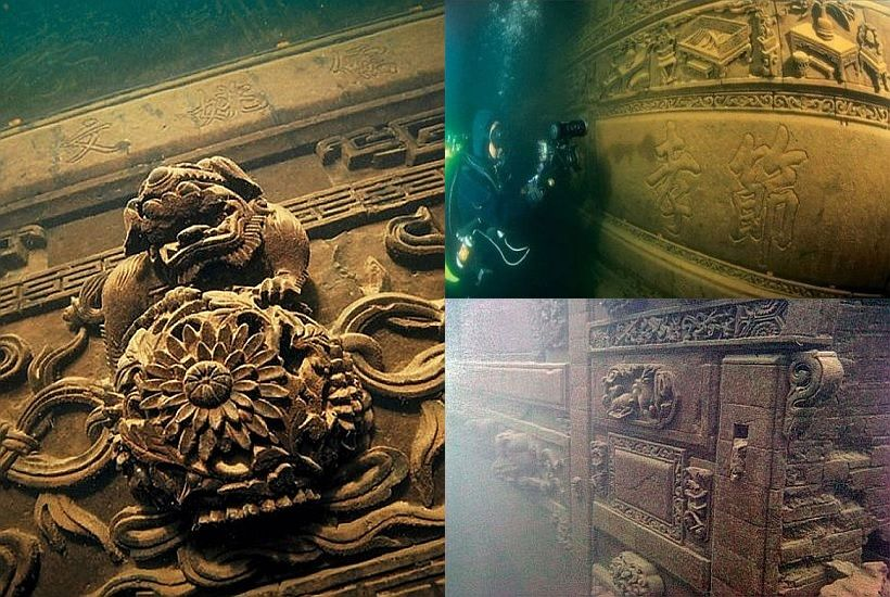 lion city qiandao lake china archaeology