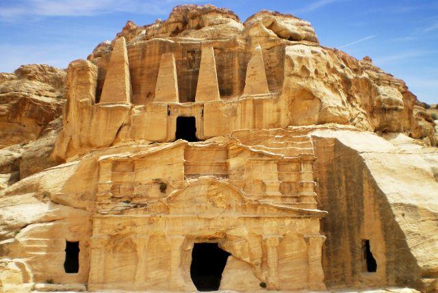 ancient petra city in jordan