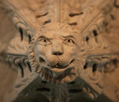 rosslyn chapel lion face