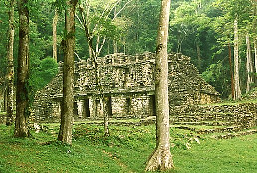 yaxchilan city mexico