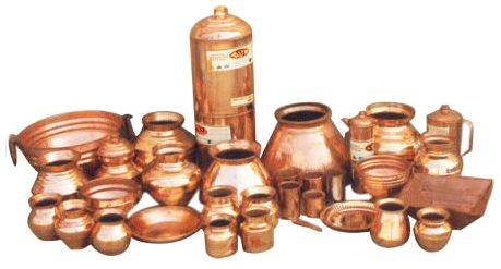 copper utensils kitchenware