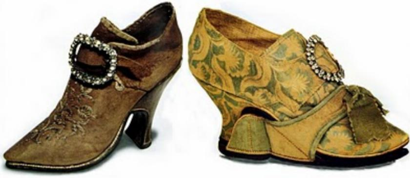 High Heels of Catherine De Medici, France