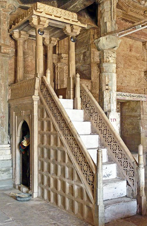 Jami Masjid Khambhat Steps