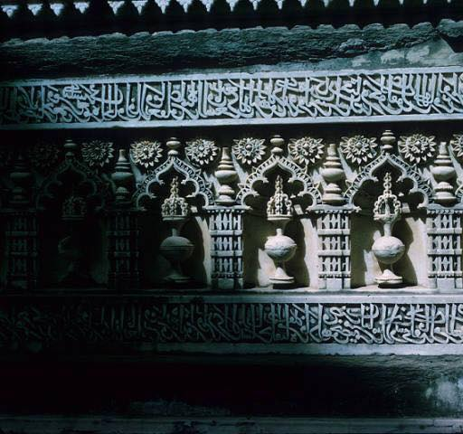 Jami Masjid Khambhat Wall Carvings