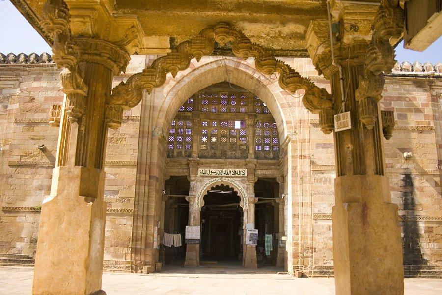 Jami Masjid Khambhat Entrance Arch Toran