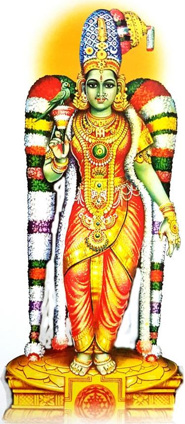 Goddess Meenakshi Madurai