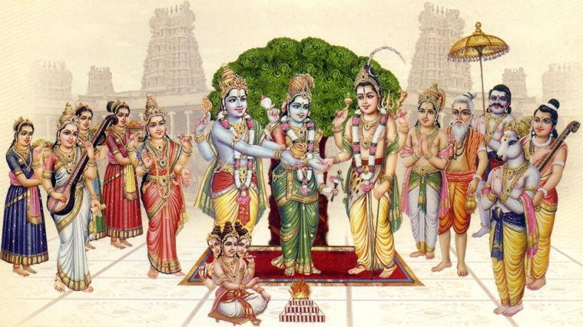Meenakshi Sundareswara Marriage