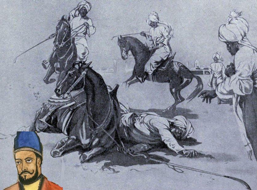 Subhrak Horse killed Qutbuddin Aibak