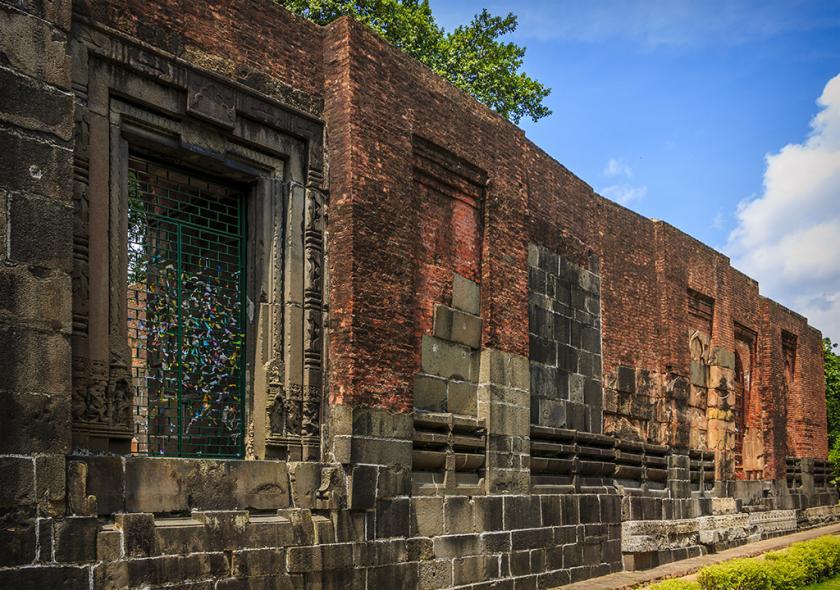 Zafar Khan Ghani Masjid North face Temple Door