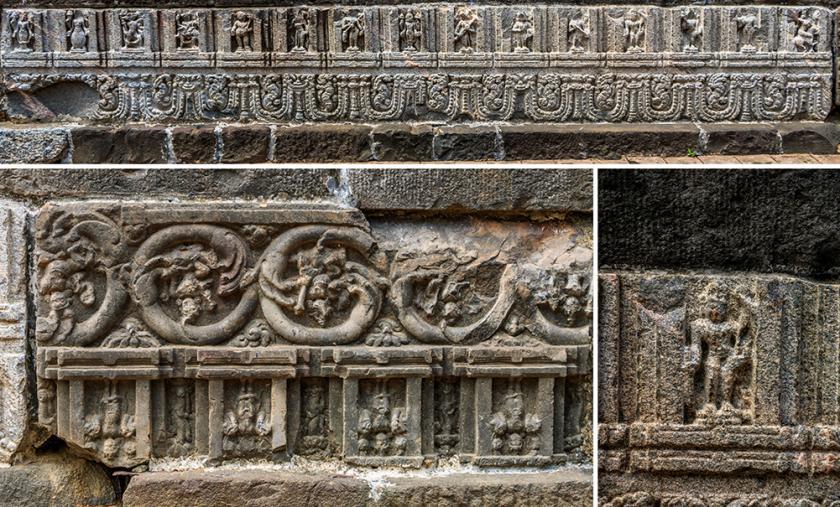 Zafar Khan Ghani Masjid North wall collage