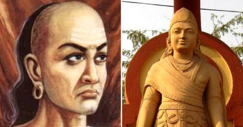 Chanakya and Chandragupta Maurya