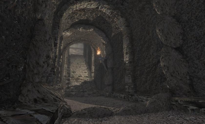 Toramana Kashmir King in Cave Prison