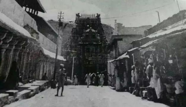 Tirumala Temple Old Entrance