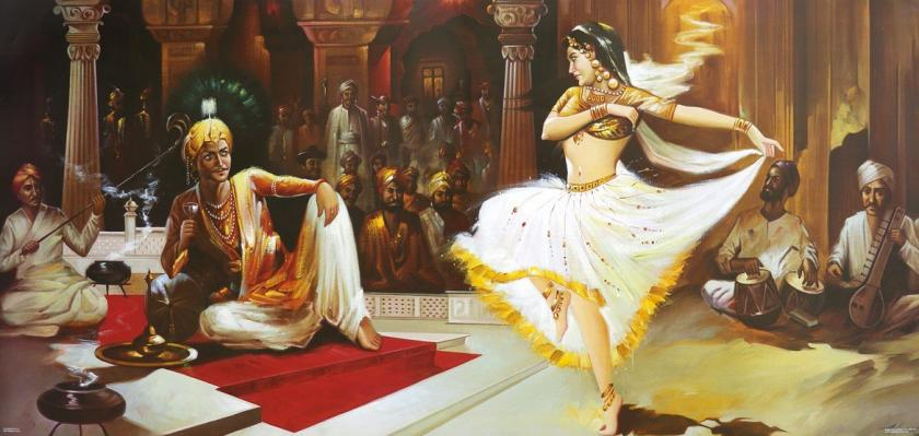 Vidisha Dancing Girl with King