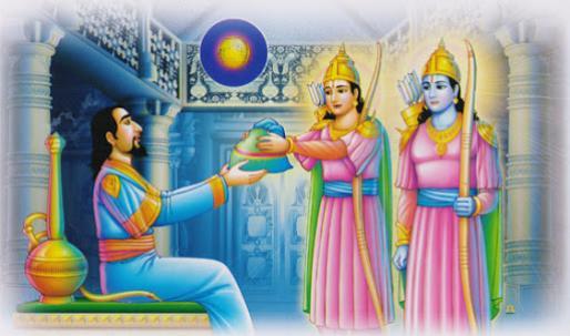 Ramoji Lakshmoji with Tanisha