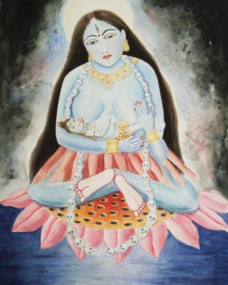 Taara Devi breastfeeding Shiva