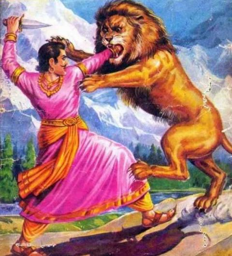 Kashmir King Chandrapeeda