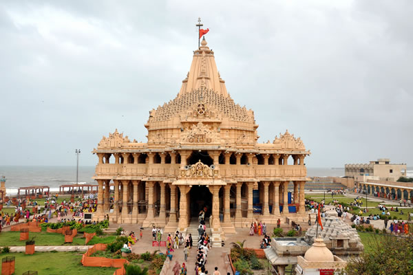 somnath temple front view