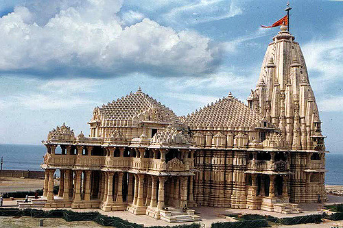 somnath temple sideview