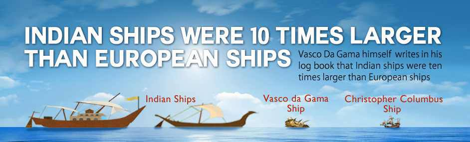 vasco da gama followed gujarati trader ships to India