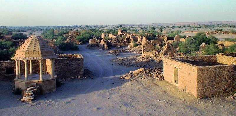 Kuldhara cursed ghost village