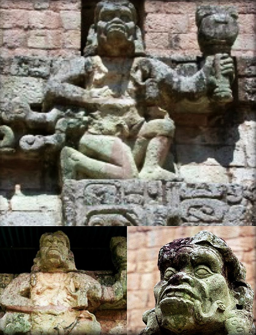 monkey god copan honduras