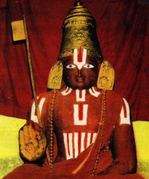 Ramanuja Mummy Srirangam