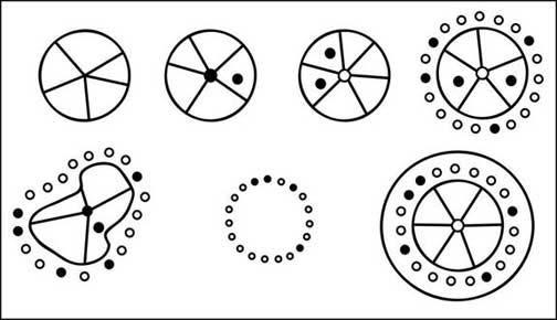 saudi syria deset stone circles pattern