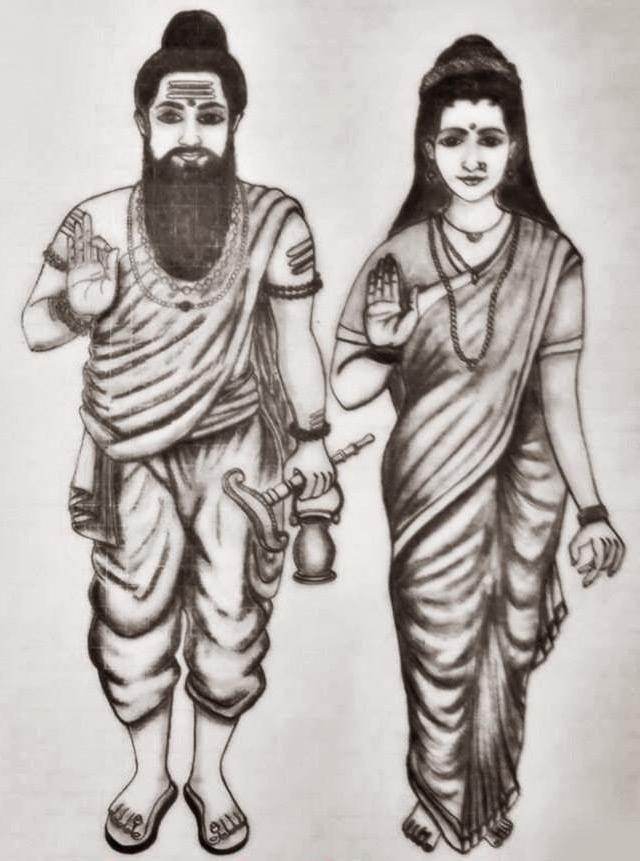 Agastya and Lopamudra