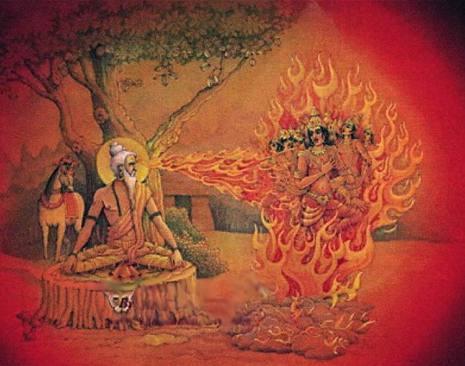 Kapila burns Sagara's Sons