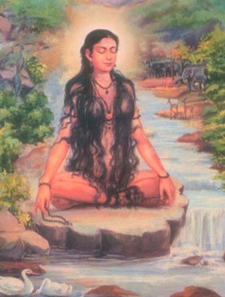 Vedic Woman Maitreyi