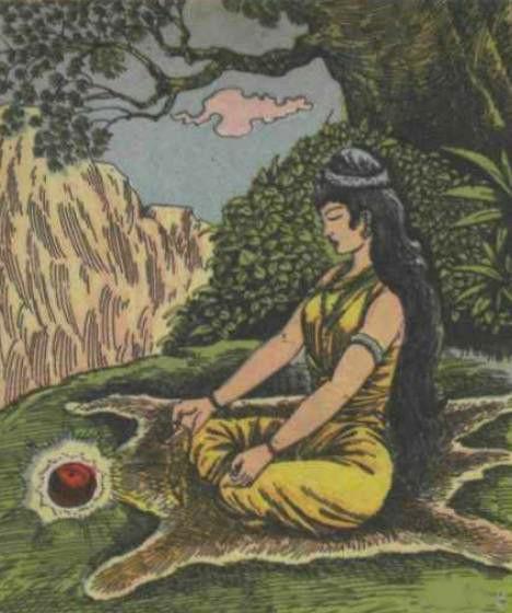 Anjana tapasya on Anjanadri Tirumala