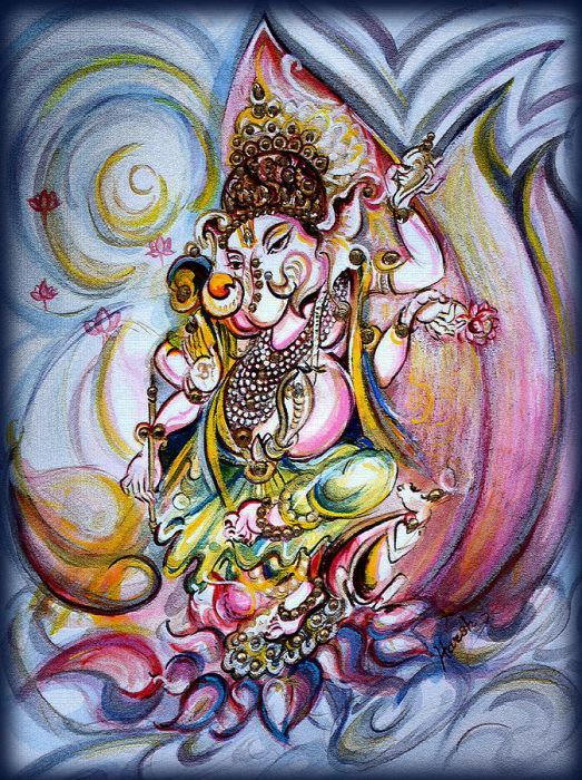 Ganesha in Turiya Sthiti (Bliss)