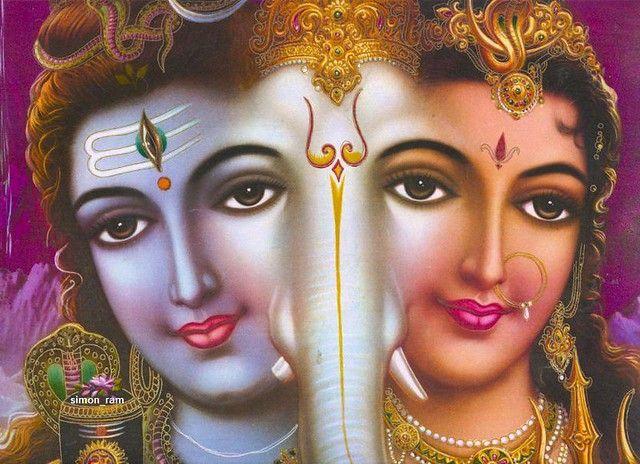 Siva Ganesha Parvati